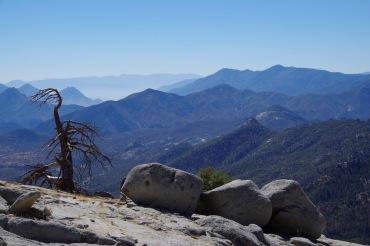 Vaade Dome Rock kaljult lõunasse
