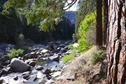 Merced jõgi Yosemite oru põhjas