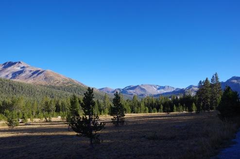 Yosemite vaateid: mägiaas