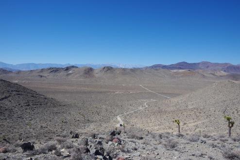 Nevada vaateid. Sierra Nevada ja Death Valley vahel.