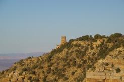 Desert View vaatetorn Suure Kanjoni rahvuspargi idaserval.