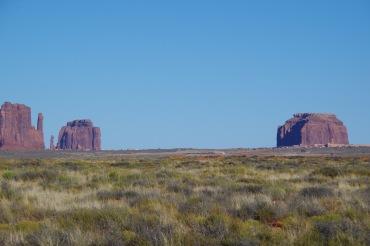 Eemalt vaade monumentide orule. Lähemale sel päeval saada ei õnnestunud.