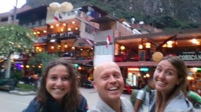 Jõudsime Machu Picchu külla