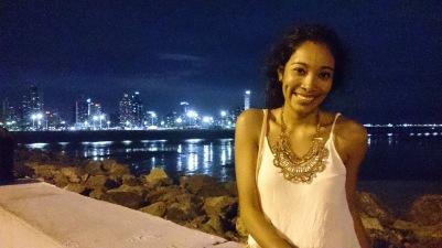 Sensuaalne Nikaraagua kaunistamas Panama ööd