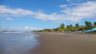 El Transito rand, vaade põhja suunas
