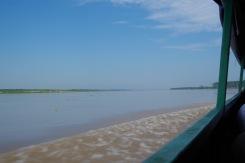 Oo, Ucayali! Sa oled võimas ja lai. Veel tuhat km ja sinu sooje sogaseid voogusid hakatakse nimetama Amazonaseks.