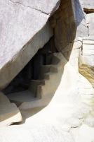 Machu Picchu ehituse stiilinäiteid: päikesetempli alune alkoov