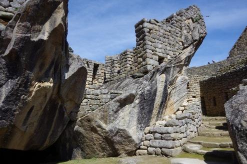 Veel inkade arhitektuurinäiteid: sümbioos kaljudega.