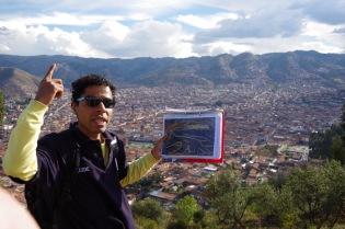 Carlos sõiduvees: Cusco on puuma-kujuline.