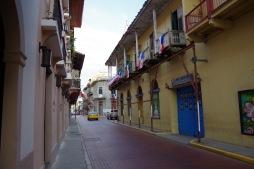 Panama Viejo tänavad: kaunilt korrastatud vanalinn.