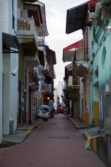 Panama Viejo tänavavaateid