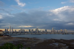 Panama City siluett