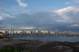 Panama City siluett