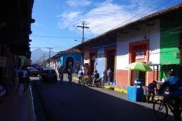 Granada vanalinna äritänavatel sebimist on