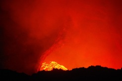 Voogav laava, pilk Masaya vulkaani südamesse.