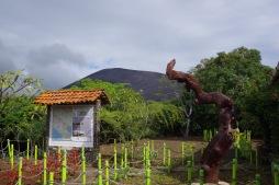 Cerro Negro paistab külastustkeskusest