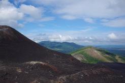 Vaade põhja suunas Cerro nõlva keskelt.