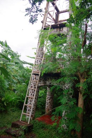 Kaelkirjakut meenutav vaatetorn