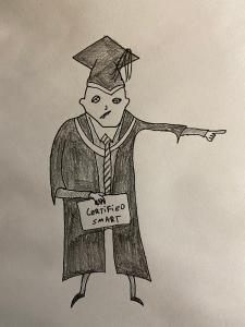 Educated fool